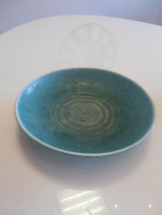Beautiful 1950s plate / bowl Karlsruhe by Veryodd on Etsy, $75.00