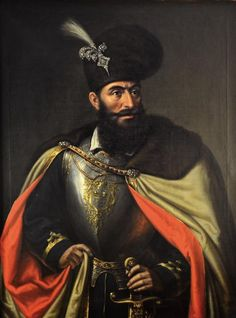 Michael the Brave was the Prince of Wallachia, of Transylvania, and of Moldavia. He united the three principalities under a single rule for a short period of time. He was assassinated in Portraits, Portrait Art, History Of Romania, Romania People, Romanian Flag, Les Balkans, Eurasian Steppe, Vlad The Impaler, The Beautiful Country