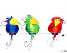 Action for Swifts: DIY Swift box designs - udvalg af gratis planerlillemo: buntes Land vorhand stoffreste gartenSchöne AquarelleClaudia Quilts ~. Watercolor Sketchbook, Watercolor Cards, Watercolor Paintings, Watercolour, Art Drawings For Kids, Cartoon Drawings, Cute Drawings, Vogel Illustration, Art Corner