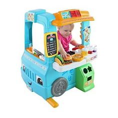 Check out the Laugh & Learn Servin' Up Fun Food Truck (DYM74) at the official Fisher-Price website. Explore the world of Laugh & Learn today!