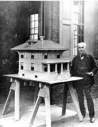 Thomas Edison - first concrete house
