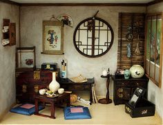 The orient traditional room No.3 asian old things by DollhouseAra