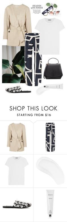 """Shades of Summer"" by deborarosa ❤ liked on Polyvore featuring Totême, Alexander Wang, Rodin and Byredo"