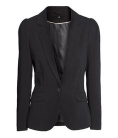 Blazer With Puffed Sleeves   H&M US