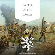 War poetry from a participant of one of the bloodiest battles in the world history: http://leopoldclassiclibrary.com/book/severn-somme