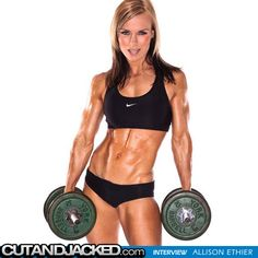 http://www.cutandjacked.com/Interview-Allison-Ethier