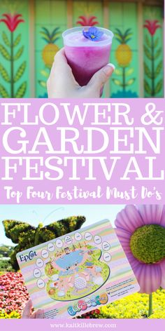 Spring is here and so it the International Flower and Garden Festival in Epcot! Here's everything you've got to do if you're visiting Walt Disney World for the festival!