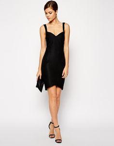 Image 4 ofASOS TALL Sweetheart Bandage Mini Dress