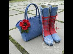 Woolen lather bags. Валяные сумки. - YouTube Boots, Winter, Youtube, Fashion, Crotch Boots, Winter Time, Moda, Fashion Styles, Shoe Boot