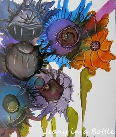 Alcohol ink by loracia