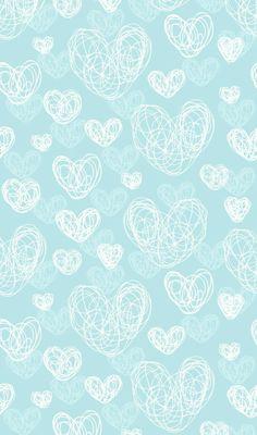 Flowery wallpaper, pastel wallpaper, heart wallpaper, blue wallpapers, wallpaper for your phone Flowery Wallpaper, Heart Wallpaper, Paper Wallpaper, Tumblr Wallpaper, Mobile Wallpaper, Blue Wallpapers, Blue Backgrounds, Wallpaper Backgrounds, Iphone Wallpaper