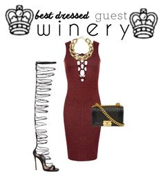 """""""Untitled #19"""" by marissasfashions ❤ liked on Polyvore featuring WearAll, Dsquared2, Kenneth Jay Lane, napa, winerywedding, bestdressedguest and vineyardwedding"""