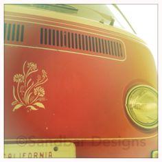 stencil bus #SandbarDesigns #VWBus #VW #BusPics #Volkswagen #BusyDreamin.com
