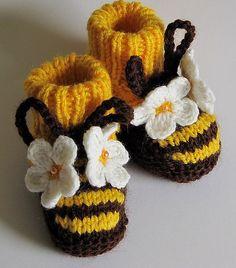 BEE booties
