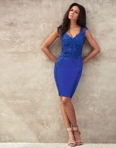 4fa1365b5192 Buy Lipsy Love Michelle Keegan Appliqué Bodycon Dress from the Next UK  online shop