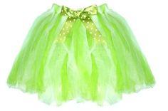 Green Polka Dot Tutu Skirt 2-8 yr 2T-10/12 Girl Birthday Party Halloween Costume