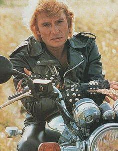 Marnes La Coquette, Johnny Halliday, Films Cinema, Serge Gainsbourg, Idole, Rock N Roll, Movie Stars, Photos, Bikers