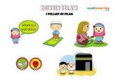 RUKUN ISLAM colouring