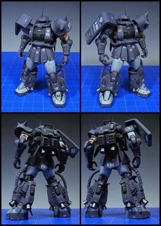 [SUPREME MECHA]: MG Gerald Sakai Dedicated High Mobility type Zaku II (MS-06R-1A) Chimera Corps Modeled by UOS