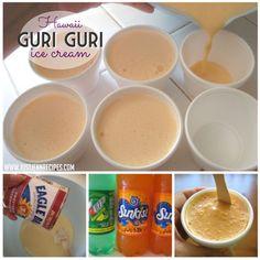 Guri Guri Ice Cream prep
