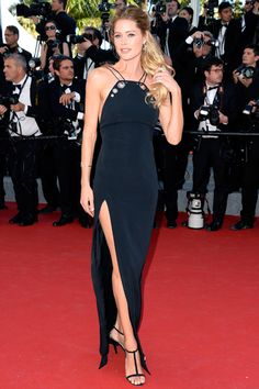 See All of the Best Red Carpet Looks from Cannes—Doutzen Kroes in Mugler