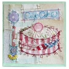 cakes in textile art - Google Search