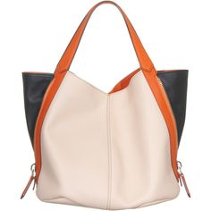 Givenchy Tinhan Tricolor Medium Leather Tote With Zipper...jades24.com
