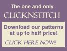 Download cross stitch patterns at half price at Clicknstitch