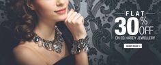 Flat 30% Off On Ed Hardy Jewellery From Flipkart