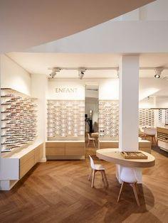Creation of an optical business - Pau / 2017 Design: Atelier JMCA © credit ph . - Emma Home Bad Ragaz, Architecture Design, Optometry Office, Design Creation, Eyewear Shop, Optical Shop, Apartment Chic, Clinic Design, Single Bedroom