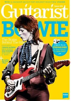 David Bowie - Guitarist Magazine Cover [United Kingdom] (March 2016)