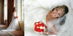 Beautiful Wedding Photography Poses | Beautiful bride posing on a photograph at the Hotel Galvez