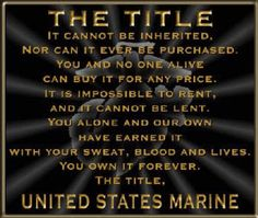 The Title (Marine)