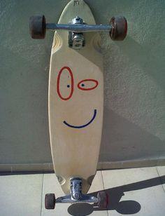 Ed, Edd n' Eddy themed Plank longboard.