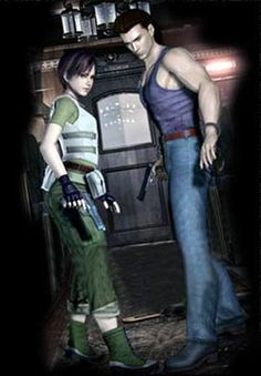 Rebecca Chambers and Billy Coen from Resident Evil 0