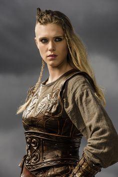 #GaiaWeiss #Þórunn #Vikings #HistoryChannel Season Three Promo Pic