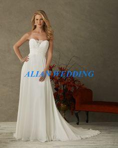 cdf2d9fff7c Latest Design Beach Wedding Dress 2015 Sweetheart Lace Beaded Boho Style Bridal  Gown White Chiffon Vestido
