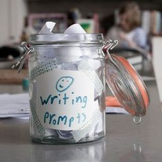 Writing Prompts in a Jar! by patrica