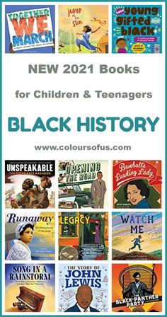 New 2021 Black History Books For Children & Teenagers Best Books List, Book Lists, Good Books, Female Poets, Black History Books, Black Panther Party, Green Books, Happy Reading, Chapter Books