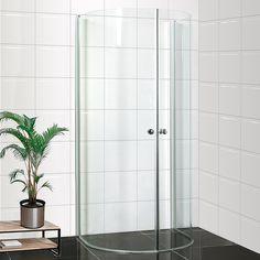Bathlife brusehjørne Mitt 93 x 78 x 190 cm til lige væg i klar glas Aluminium, Mittens, Tall Cabinet Storage, Divider, Interior, Room, Furniture, Design, Home Decor
