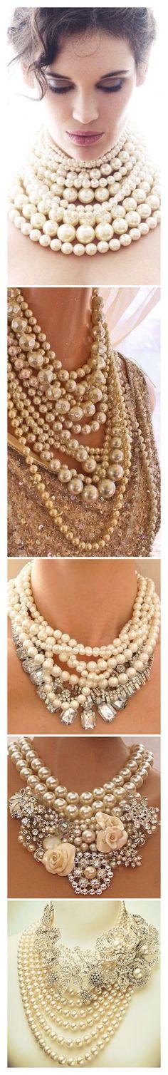 #Luxury#Pearls# Accessories@Luxurydotcom §