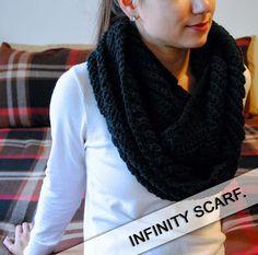 Free Crochet Pattern - Subtle Chevron Infinity Scarf