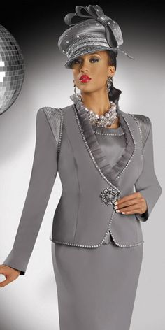 2014 first lady women's church suits Church Suits And Hats, Church Attire, Women Church Suits, Church Dresses, Church Outfits, Suits For Women, Nice Dresses, Church Hats, Prom Dresses