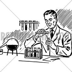 Chemist Researcher Working In Laboratory Chemist, Darth Vader, Fictional Characters, Fantasy Characters