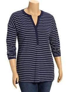 Women's Plus Striped Jersey Pullovers | Old Navy