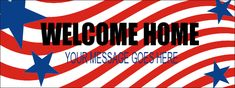 Welcome Home Banner Red Carpet Backdrop, Welcome Home Banners, Event Banner, You And I, Backdrops, How To Memorize Things, Messages, Prints, You And Me