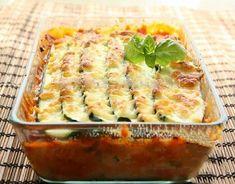 Lasagna ușoară din dovlecei - o mâncare foarte gustoasă cu puține calorii. - Bucatarul