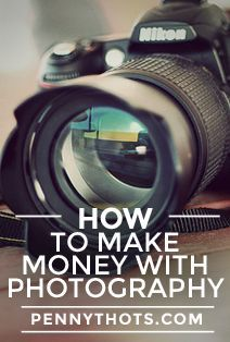 You love taking pictures. While many enjoy photography just for the pleasure and joy that it brings, others are interested in turning their hobby into a side income. So just how do you go about making money with photography? It is much easier than you think, all thanks to the internet. Here are 8 easy and fun ways for how to make money with photography that you can start using today. - Penny Thots pennythots.com/...