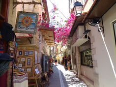 In the alleys of Rethymnon town