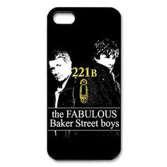 Custom Sherlock Phone Case for Iphone 5 5s:Amazon:Cell Phones & Accessories